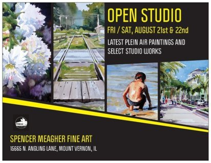 Spencer Meagher Open Studio Invite Aug 2015