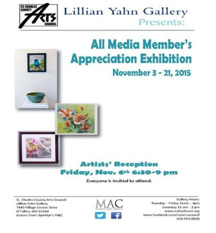 Lillian Yahn Gallery Show Nov 2015