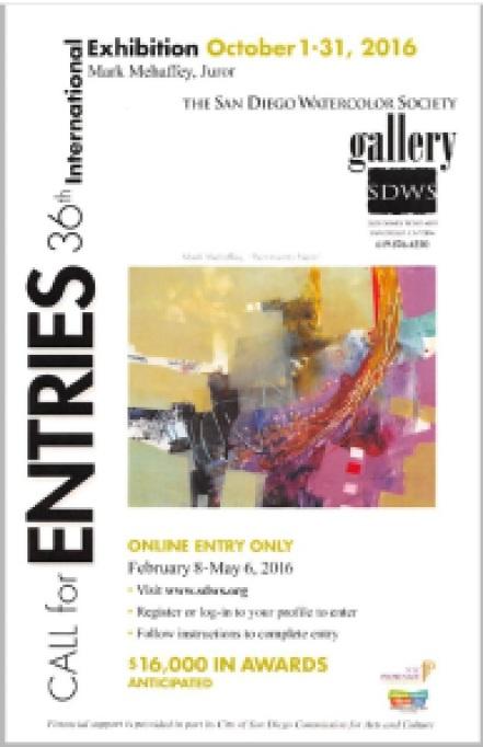 SDWS 2016 International Show Flyer
