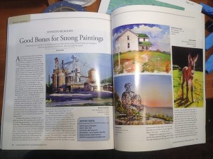 Plein Air Magazine Article