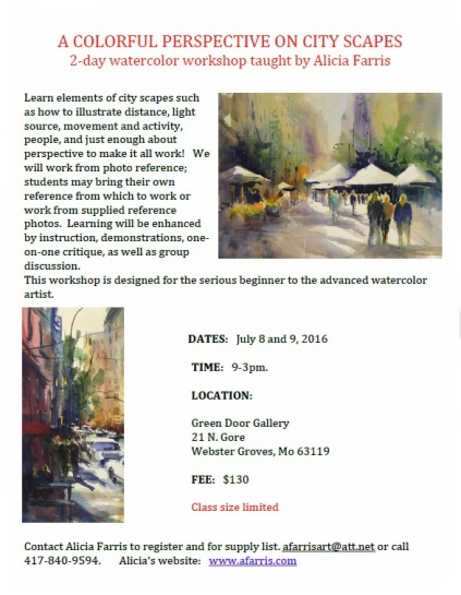 Allicia Farris City Scapes Class Jul 2016