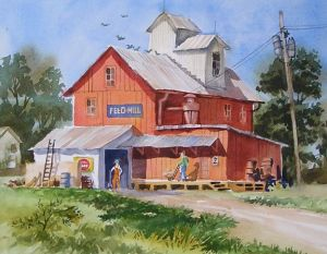 Beauford Feed Mill 2 by David P. Anderson