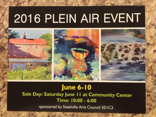 Steeleville 2016 Plein Air Event