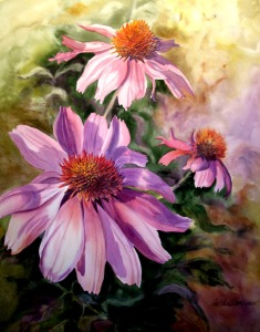 coneflowers-ii-by-linda-wilmes