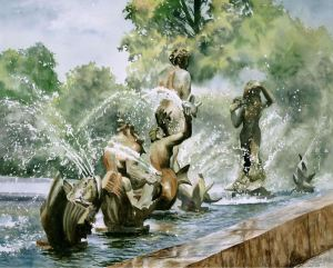 linda-wilmes-fountains-on-market-street-watercolor